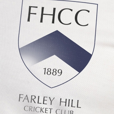 Farley Hill Cricket Club Shirt Badge