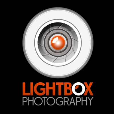 Lightbox Photography Logo Reverse