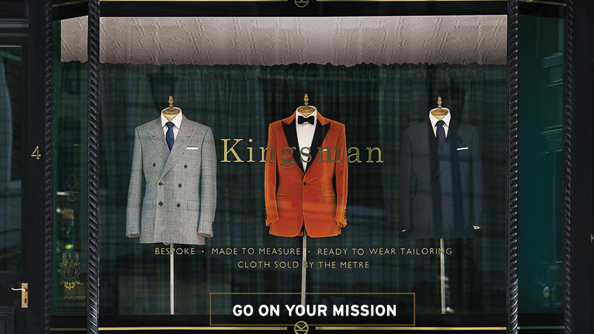 Visit Great Britain Kingsman Header